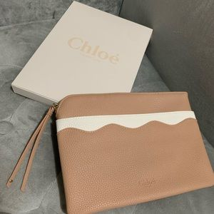 New Chloe authentic makeup bag